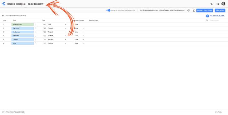 daten verbinden google data studio