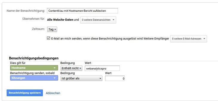duplicate-content-google-analytics-alerts-contentklau-einstellungen