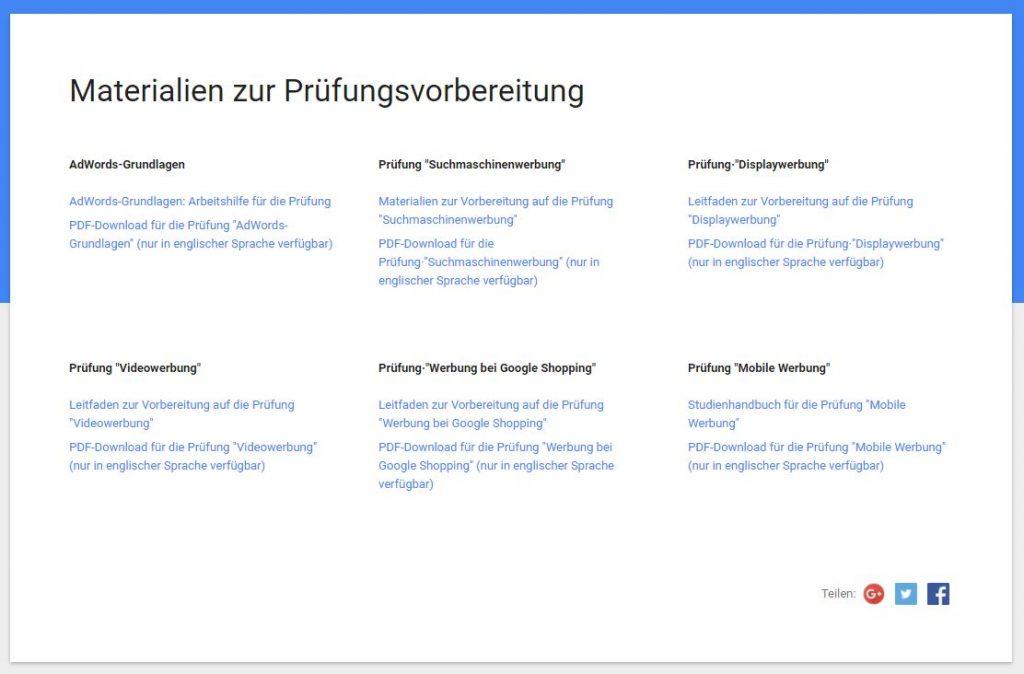 google adwords zertifizierung problemlos bestehen vorbereitung 1024x674