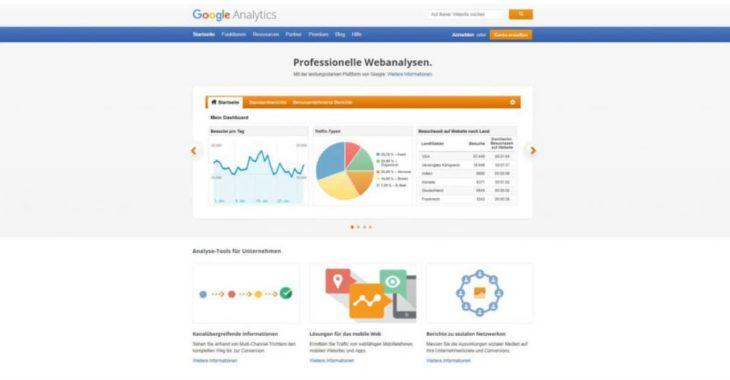 Google Analytics Checkliste für neue Projekte