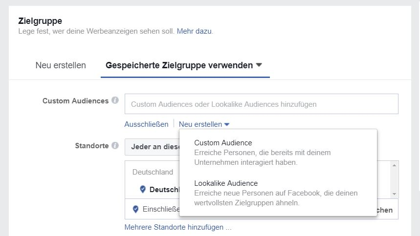 reach x.de blog B2B facebook ads für anfänger audiences