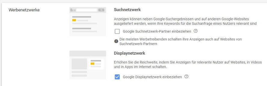 reachx fails in der google ads erstellung 03