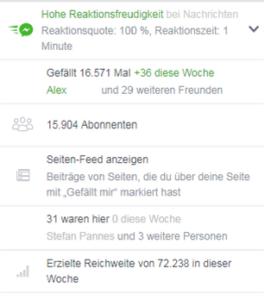reaktionszeit von unternehmen in facebook 264x300