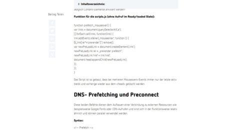 Ressourcenpriorisierung – praktische Anwendungstipps für WordPress