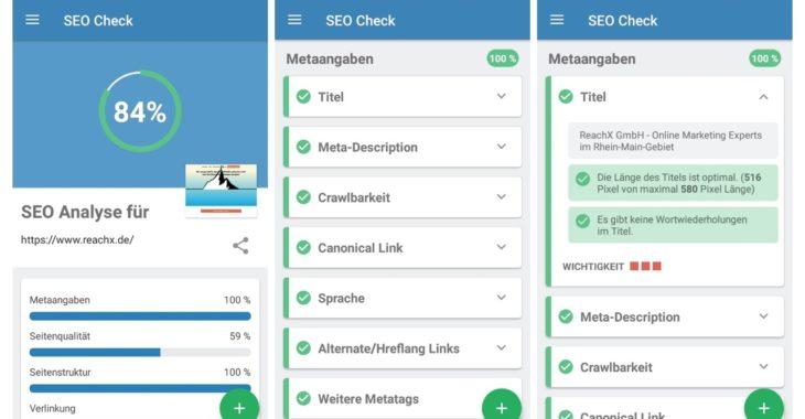 screenshot seo check app metaangaben